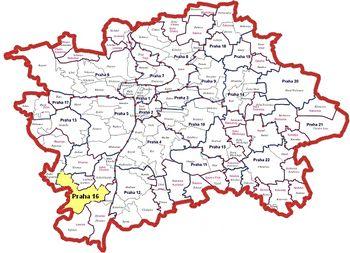 Informacni Server Mestske Casti Praha 16 Mestska Cast Mestska